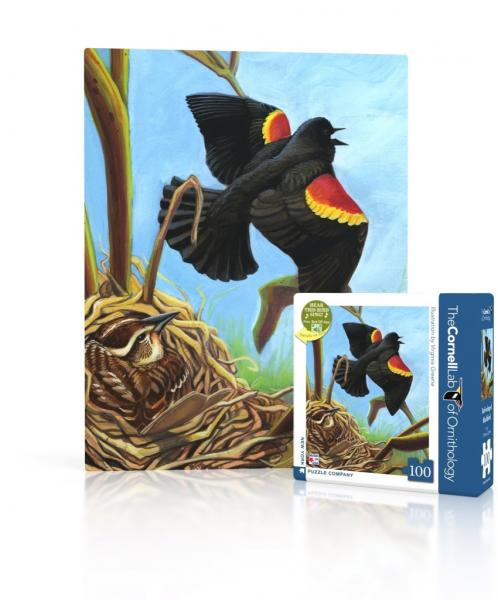 Red-Winged Blackbird Mini (100 pieces)