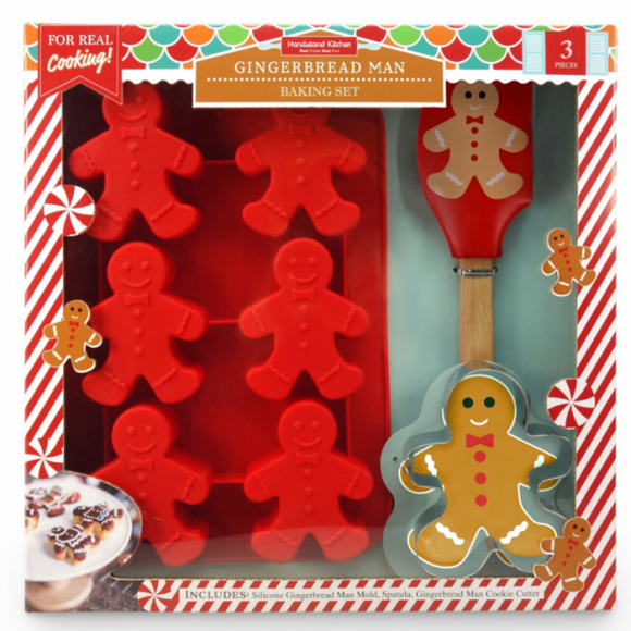 Gingerbread Men Baking Set