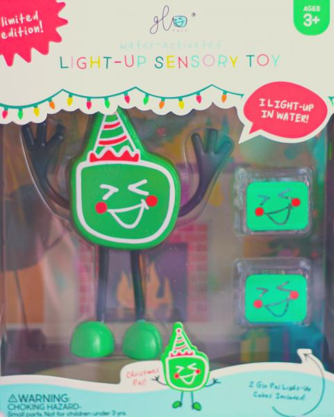 Christmas Glo Pal with 2 Light Up Water Cubes