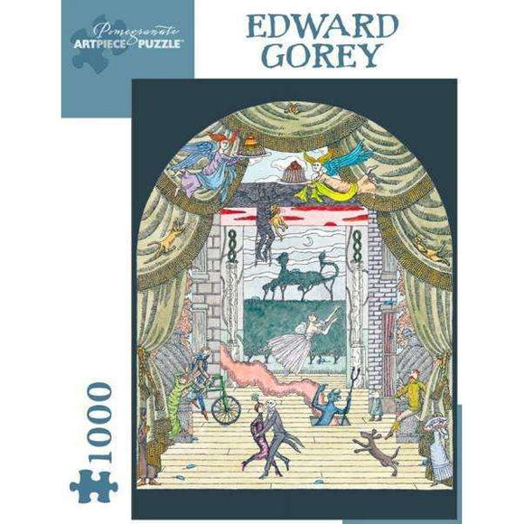 Edward Gorey: Untitled Theatre (1000 pieces)