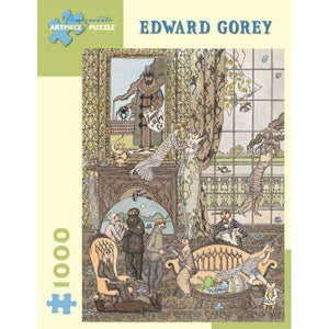 Edward Gorey: Frawgge Mrfg. Co. (1000 pieces)