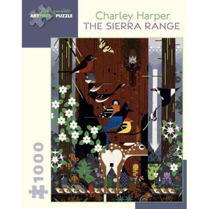 Charley Harper: The Sierra Range (1000 pieces)