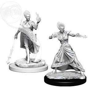 D&D Nolzur's Marvelous Miniatures: Fire Genasi Female Wizard