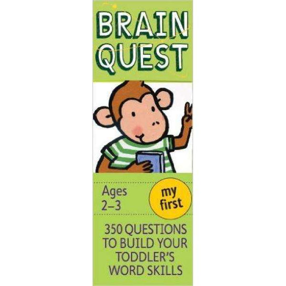 Brain Quest Cards: My First