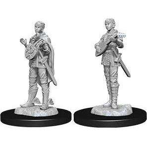 D&D Nolzur's Marvelous Miniatures: Female Half Elf Bard