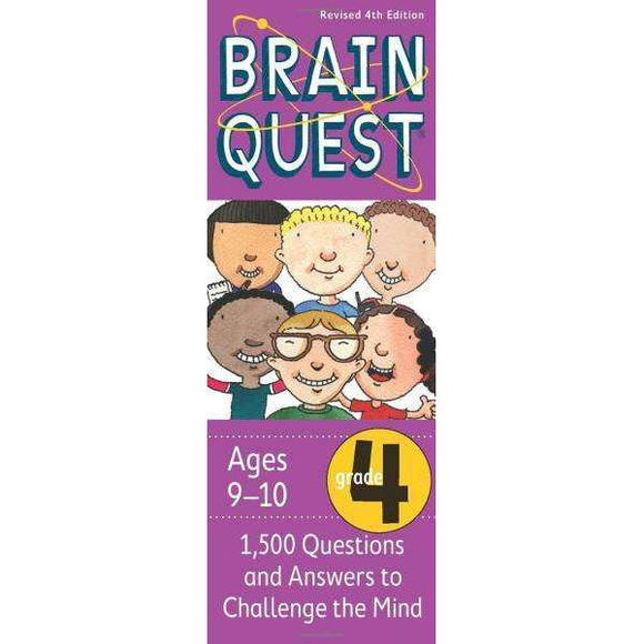 Brain Quest Cards: 4th Grade