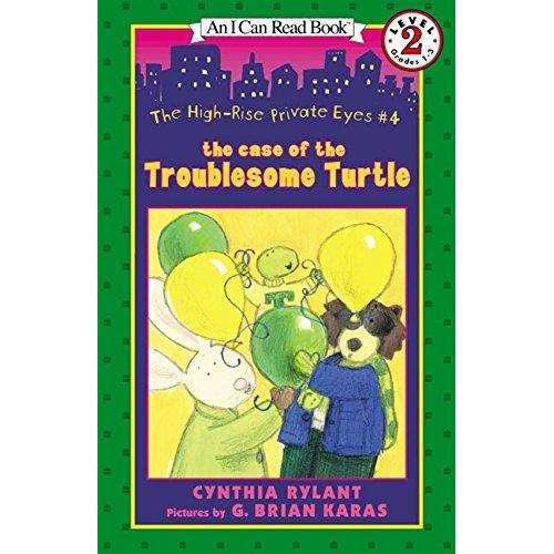 I Can Read-High-Rise Private Eyes #4: The Case of the Troublesome Turtle, The