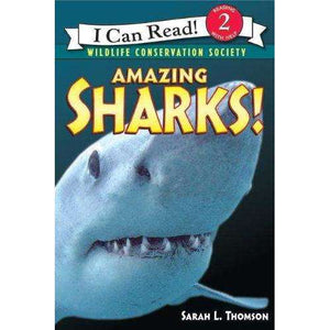 I Can Read-Amazing Sharks!