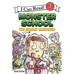 I Can Read-Monster School: The Spooky Sleepover