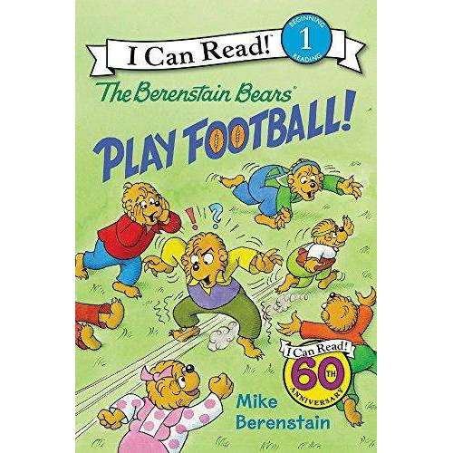 I Can Read-Berenstain Bears Play Football