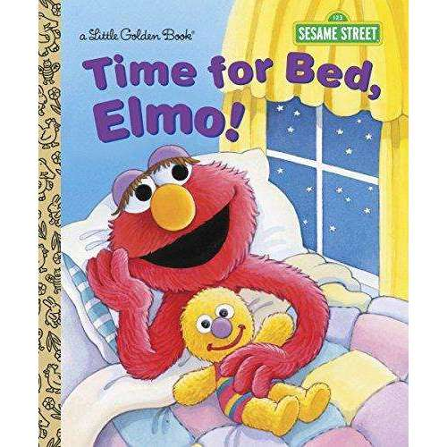 Time for Bed, Elmo! (Little Golden Book)