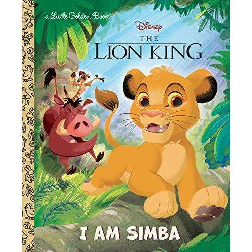 The Lion King: I am Simba (Little Golden Book)