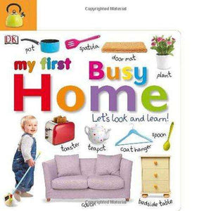Tabbed Board Book: My First Busy Home