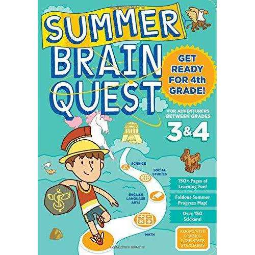 Summer Brain Quest: Between Grades 3& 4