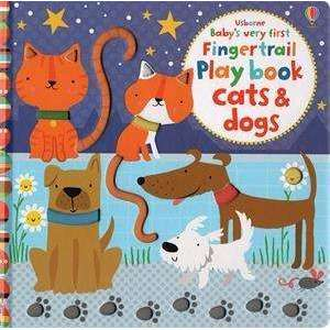 Baby's Very First Cats & Dogs Fingertrail Playbook