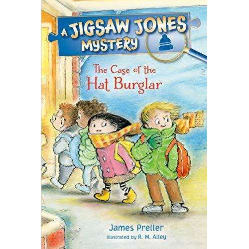 Jigsaw Jones: The Case of the Hat Burgler