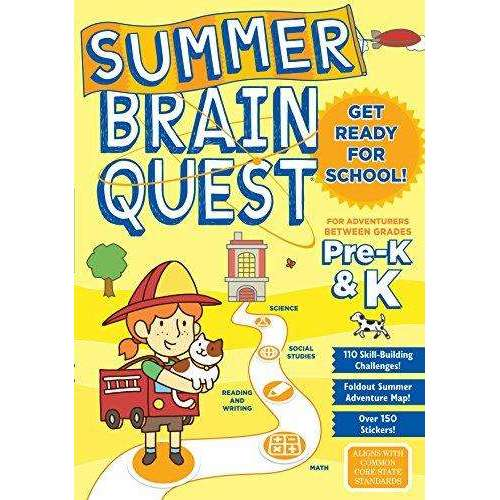 Summer Brain Quest: Between Grades Pre-K and K
