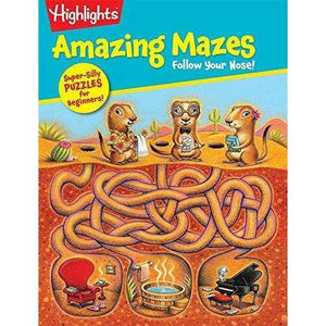 Highlights: Amazing Mazes Follow Your Nose