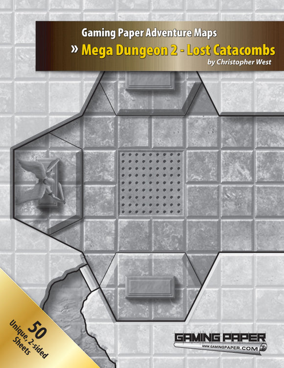 Gaming Paper Mega Dungeon 2: Lost Catacombs