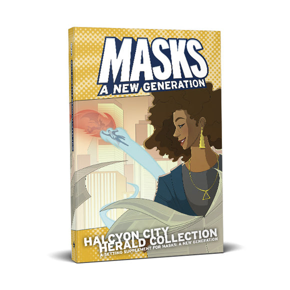 Masks: Halycon City: Herald Collect (SC)