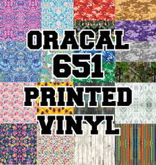 Oracal 651 Adhesive Printed Vinyl