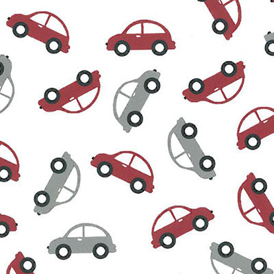 Red and Grey Cars 2068