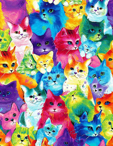 Painted Bright Cats