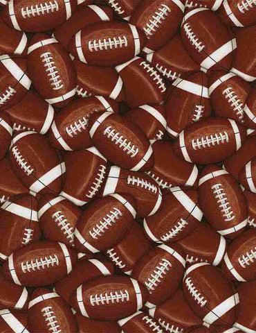 Football Cotton Print
