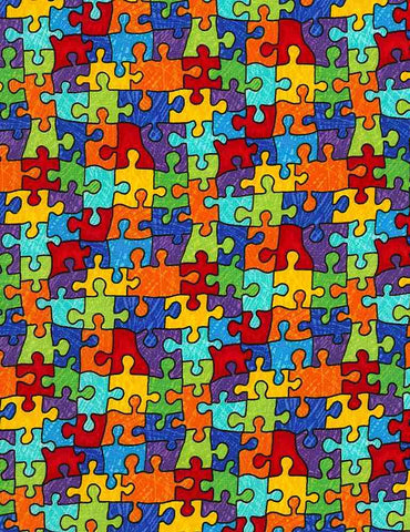 Puzzle Pieces- Autism Awareness