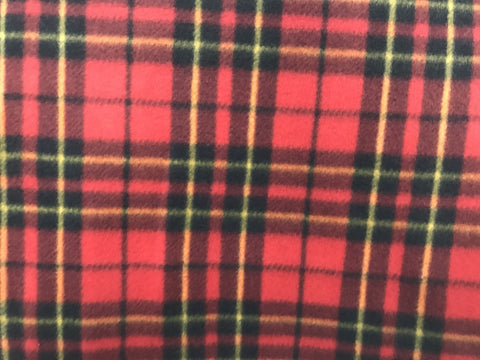 "60"" Red Multi Plaid"