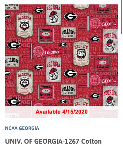 Georgia Fabric- OUT OF STOCK