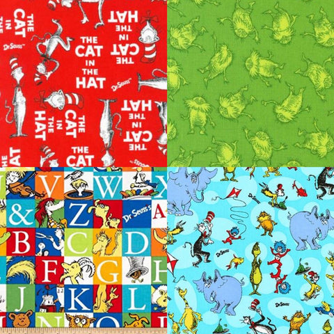 Dr. Seuss Fabric