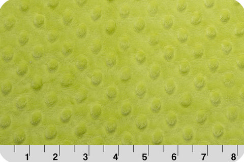 "60"" Apple Green Minky Dot"