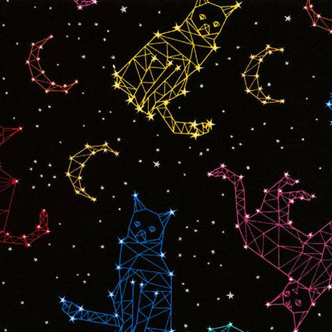 Timeless Treasures Constellation Cats