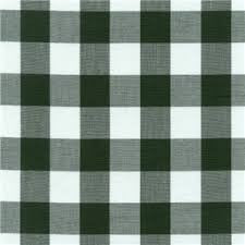 "60"" 1"" Hunter Green Gingham Check"