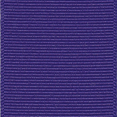 Regal Purple Grosgrain Ribbon