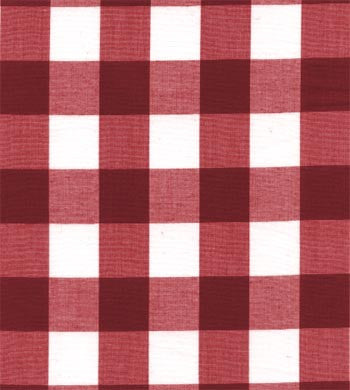 "60"" 1"" Berry Gingham Check"
