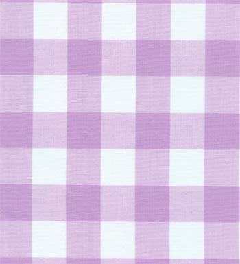 "60"" 1"" Lilac Gingham Check"
