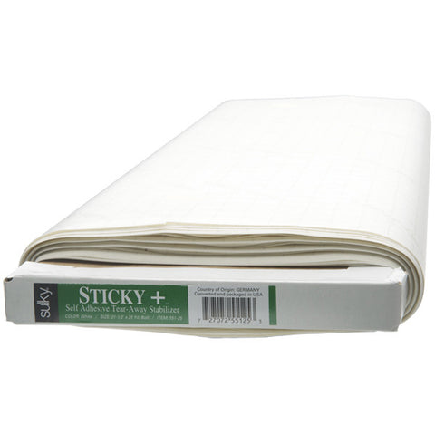 Sulky Sticky + Stabilizer - White - 22 1/2''