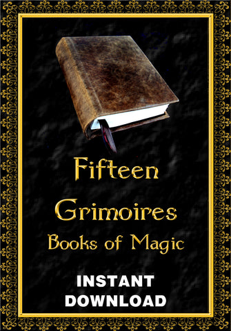 Fifteen Grimoires - Books of Magick - Instant Download - Gene's Weird Stuff