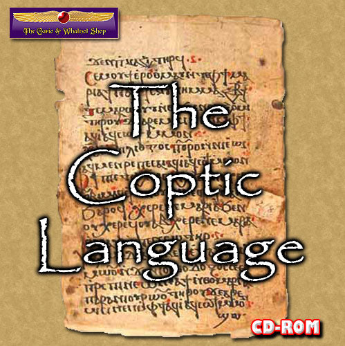 Coptic for Biblical scholars 1 CD-ROM