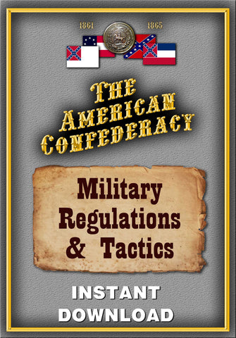 Confederate Military Regulations and Tactics - Instant Download - Gene's Weird Stuff  - 1
