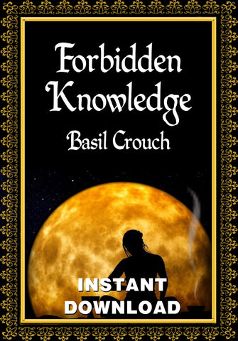 The Book of Forbidden Knowledge - Basil Crouch - Instant download - Gene's Weird Stuff