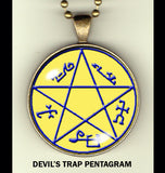 "Talismans - occult photo pendants - 1-1/4"" w/24"" chain"