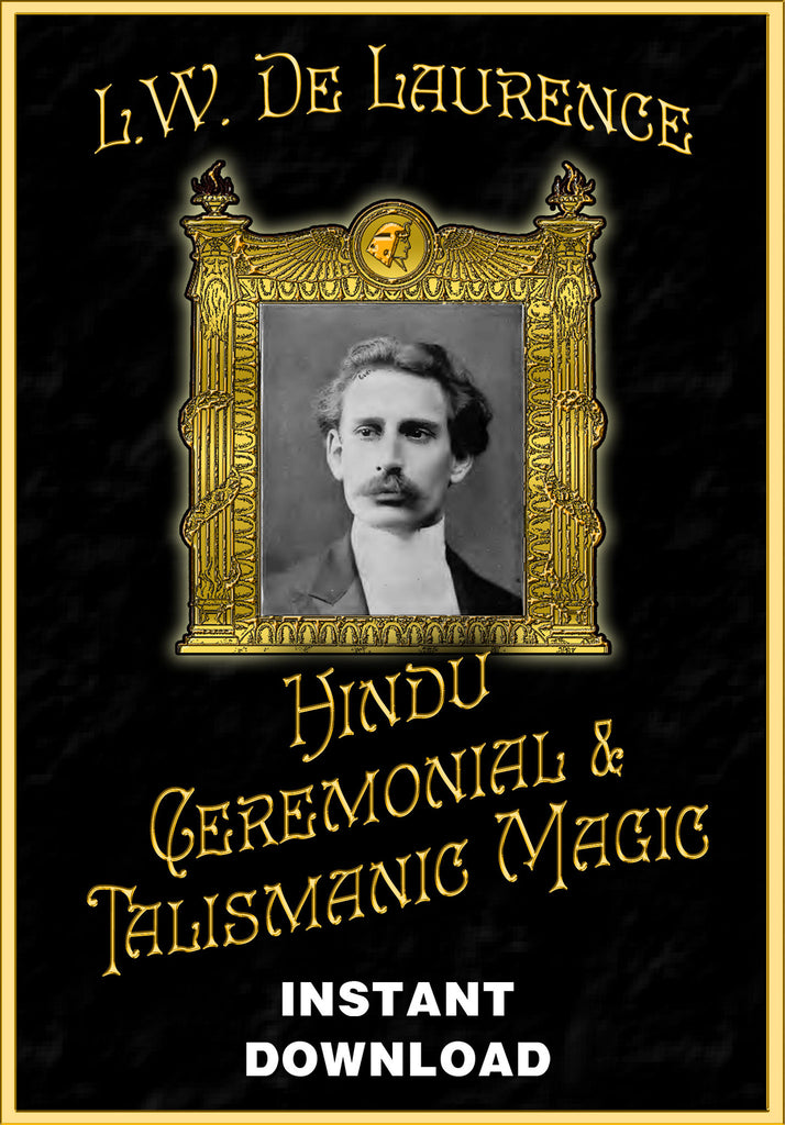 Hindu Ceremonial and Talismanic Magic - L.W. DeLaurence - Instant Download - Gene's Weird Stuff