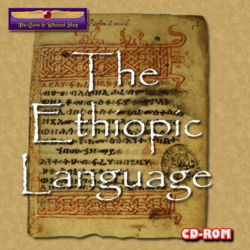 Ethiopic for Biblical scholars 1 DVD-ROM
