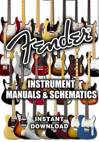 Fender Instruments - Manuals & Schematics - luthier tool ... on