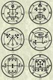 Printable Seals of the Spirits from the Goetia - instant download - Gene's Weird Stuff  - 3