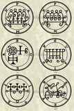 Printable Seals of the Spirits from the Goetia - instant download - Gene's Weird Stuff  - 4