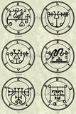 Printable Seals of the Spirits from the Goetia - instant download - Gene's Weird Stuff  - 5
